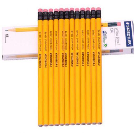 Bút chì gỗ Steadtler 2B 134 có tẩy