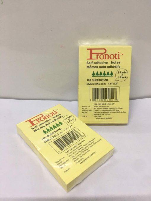 "Giấy notes Pronoti (1.5"" x 2"" Pronoti)"