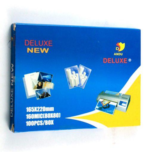 Ép Plastic A5 80 Mic Deluxe - Yidu chính hãng