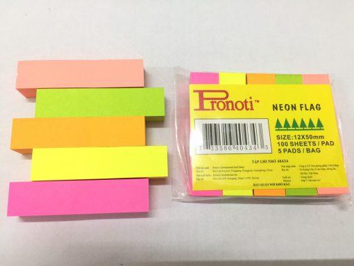 Giấy note 5 màu giấy Pronoti