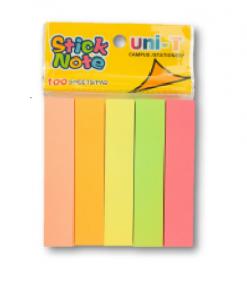 Giấy note 5 màu Uni-T