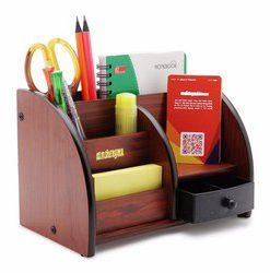 Hộp cắm bút gỗ Xukiva 6051