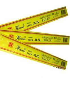 Thước kẻ mica Kewen 30cm - Ruler