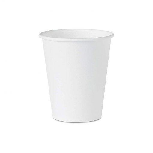 Ly giấy trắng 6.5 OZ (185ml) (7,4x7,3x4,9)