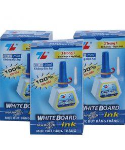 Là sản phẩm rất phổ biến của thương hiệu Thiên Long với người tiêu dùng, dung tích 25ml, dùng cho tất cả các loại bút lông bảng.