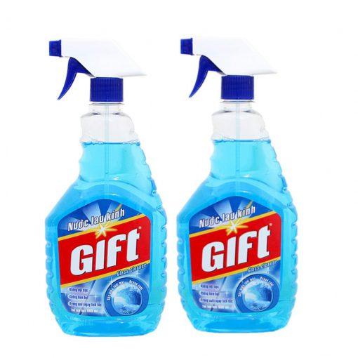Nước lau kiếng Gift