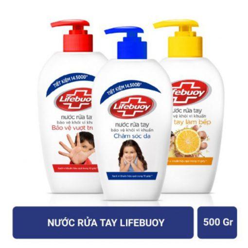 Nước rửa tay Lifebuoy 500ml