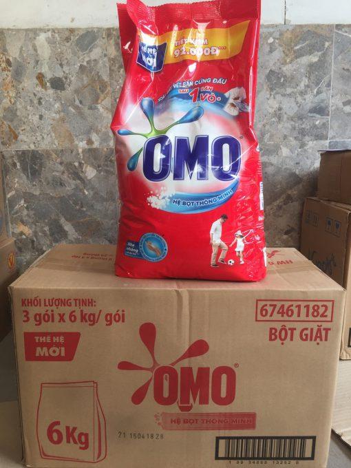 Xà bông Omo 6kg (detergent)