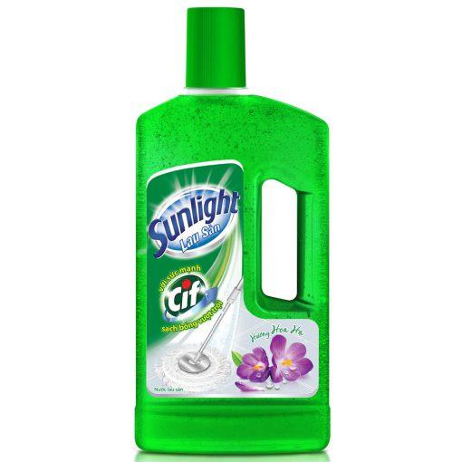Nước lau sàn Sunlight chai 1kg