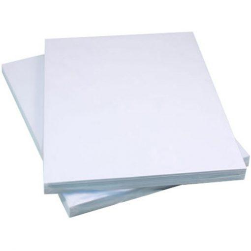 Bìa màu A4 160 gsm (màu trắng)