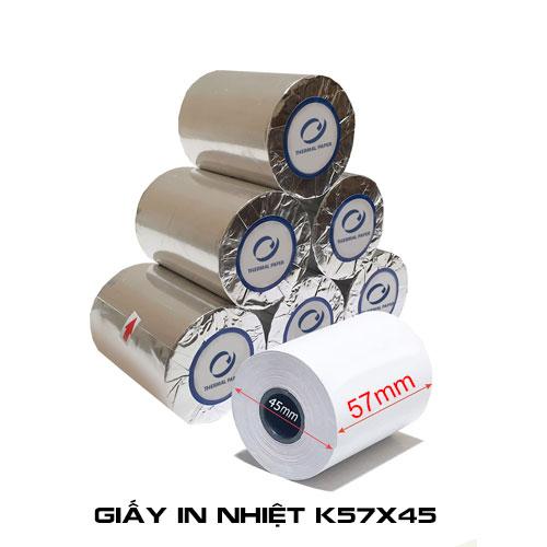 Giấy in nhiệt K57 x 45 mm