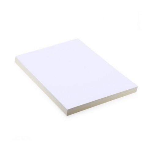 Bìa màu A4 160 gsm trắng