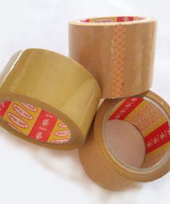 Băng keo vàng đục OPP 5F.100yds
