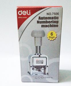 Dấu tự động Deli E7506 6 số - số cao 5mm_1
