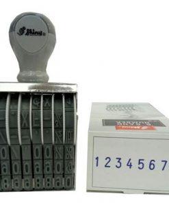 Dấu xoay tay Shiny N38 8 số - số cao 5mm_1