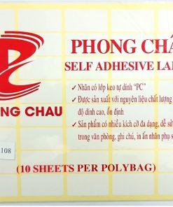 Decal Phong Châu A5 108