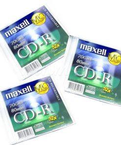 Đĩa CD Maxell - Hộp xanh 10 cái_1