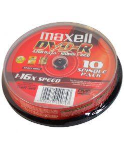 Đĩa DVD Maxell_hộp tròn 10 đĩa