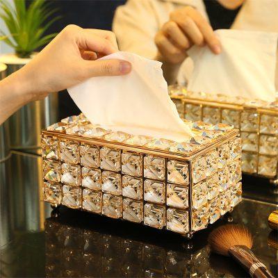 Hộp giấy ăn vàng