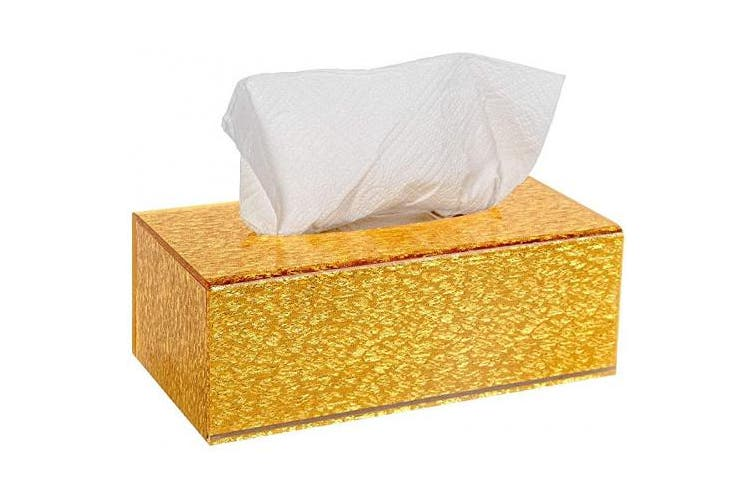 Hộp khăn ăn vàng