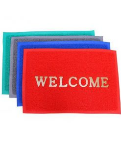 Thảm nhựa lau chân Welcome 50x70cm_1