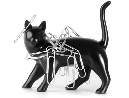 Đồ đựng kẹp giấy hình con mèo