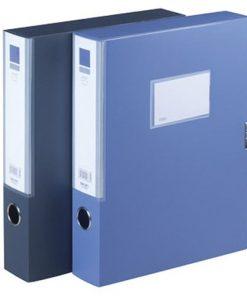 Bìa hộp si Deli 38117_xanh đen