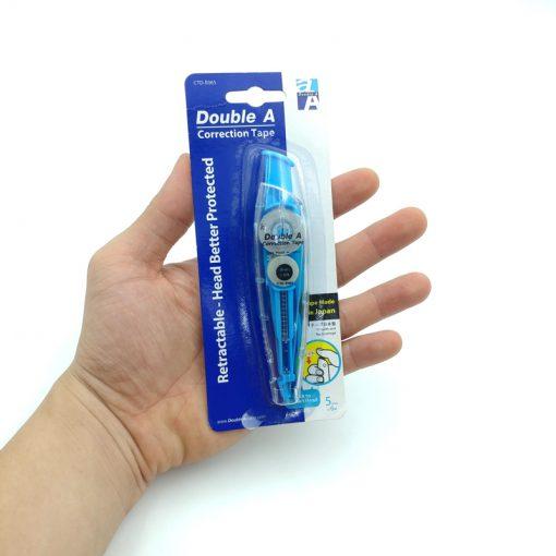 Bút xóa kéo thông minh Double A - E065_xanh