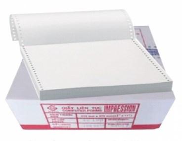 Giấy liên tục 1 liên 380x279mm_thùng giấy và tờ giấy