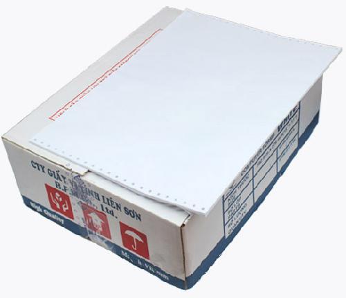 Giấy liên tục 1 liên 380x279mm_thùng giấy