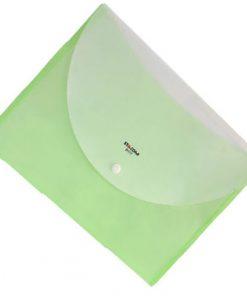 Túi đựng hồ sơ 2 ngăn D117_chụp nghiêng_màu xanh dương