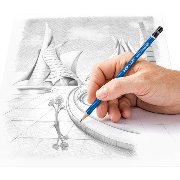 vẽ tranh bằng bút chì